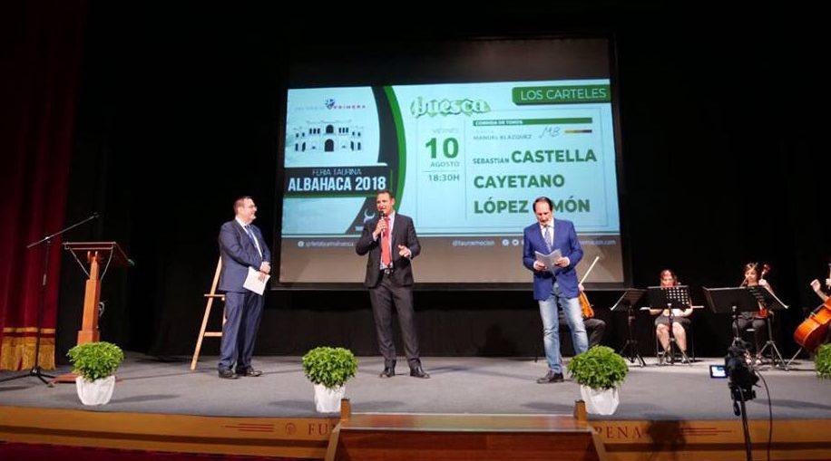 Presentación Feria de la Albahaca 2018